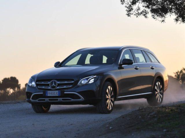 Nuova Mercedes-Benz Classe E 4MATIC All-Terrain: Versatile ed Intelligente