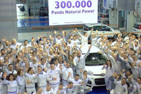 Fiat Panda: Prodotta la Natural Power numero 300 mila