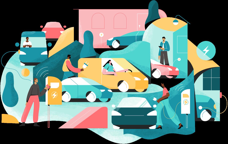 EV-fleet mobility